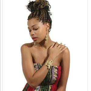 Jewelry - Unisex Ankh cuff bracelet